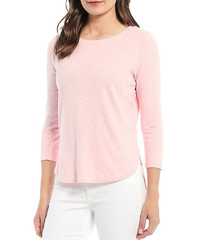 Tommy Bahama Ashby 3/4 Sleeve Jewel Neck Tee