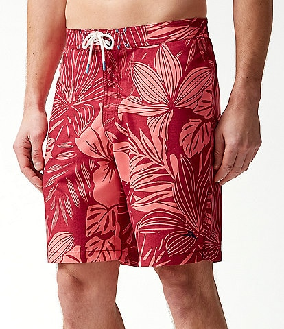 Tommy Bahama Baja Mahana 9#double; Inseam Board Shorts