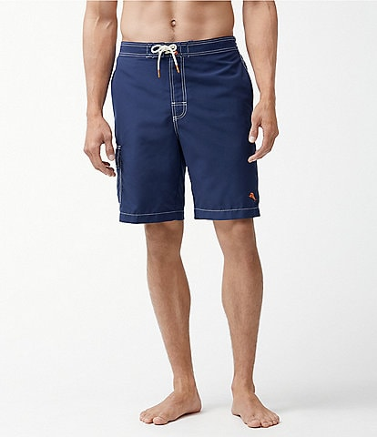 Tommy Bahama Big & Tall Baja Beach 9#double; and 10#double; Swim Trunks