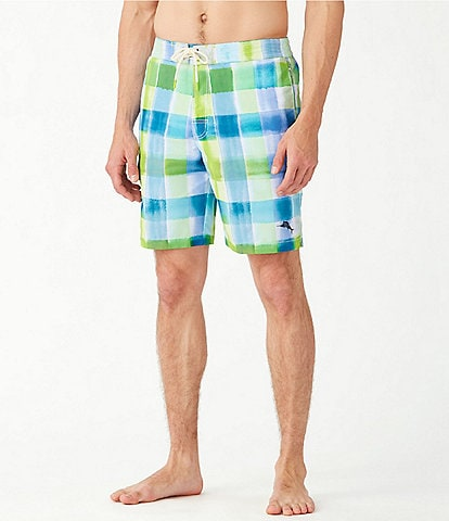 Tommy Bahama Big & Tall Baja Harbor Cove 9#double; and 10#double; Swim Trunks
