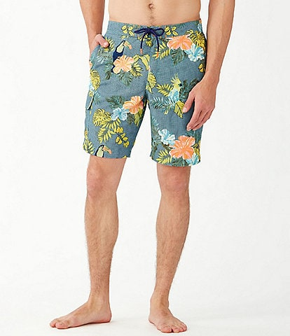 Tommy Bahama Big & Tall Baja Sir Tweets A Lot 9#double; and 10#double; Swim Trunks