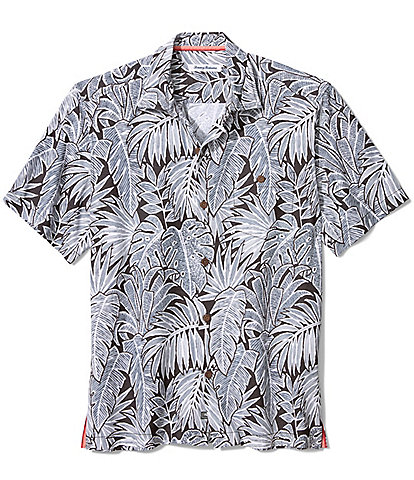 Tommy Bahama Big & Tall Coconut Point Fronds Short-Sleeve Woven Shirt