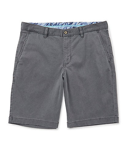 Tommy Bahama Big & Tall Flat-Front Straight-Fit Stretch Sateen 10#double; and 13#double; Boracay Shorts
