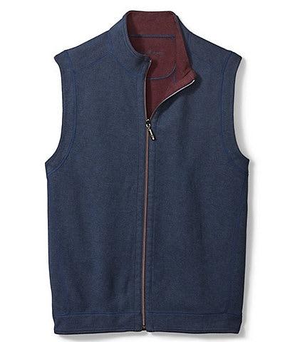 Tommy Bahama Big & Tall Flipshore Reversible Full-Zip Vest