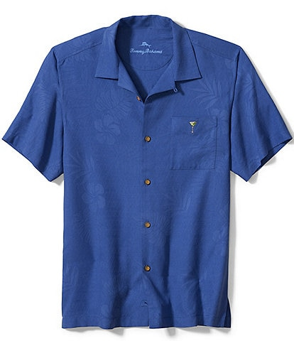 Tommy Bahama Big & Tall Hangin' With The Guys Short-Sleeve Woven Shirt