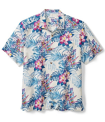 Tommy Bahama Big & Tall Hilo Gardens Short-Sleeve Woven Shirt