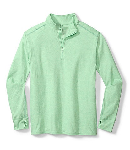 Tommy Bahama Big & Tall Island Active Palm Valley Half-Zip Pullover