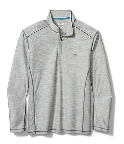 Tommy Bahama Big & Tall IslandZone Palm Coast Half-Zip Recycled Materials Pullover