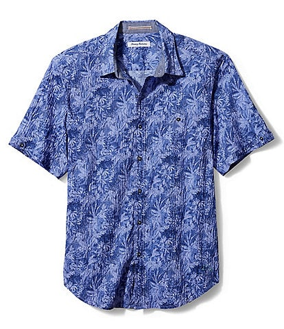 Tommy Bahama Big & Tall Jungle Shade Short-Sleeve Woven Shirt