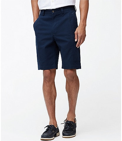 Tommy Bahama Big & Tall Key Isles 10#double; and 11#double; Inseam Cargo Shorts