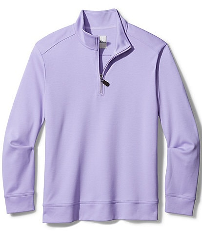 Tommy Bahama Big & Tall Martinique Half-Zip Pullover