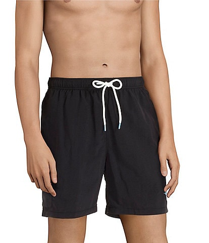 Tommy Bahama Big & Tall Naples Coast Solid 6#double; and 8#double; Inseam Swim Trunks