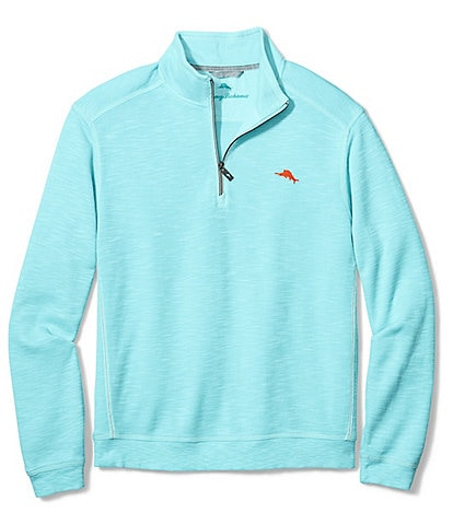 Tommy Bahama Big & Tall Tobago Bay Half-Zip Pullover