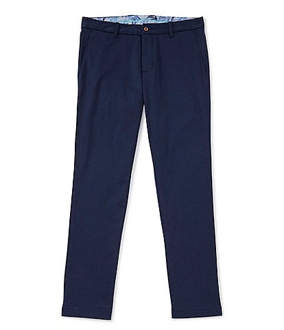 Tommy Bahama Boracay Flat-Front Stretch Sateen Pants