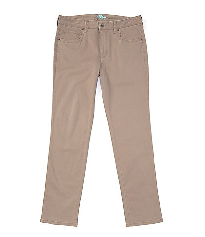 Tommy Bahama Boracay Geo 5-Pocket Stretch Sateen Jeans