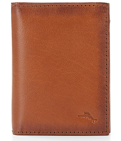 Tommy Bahama Burnished L-Fold Leather Wallet