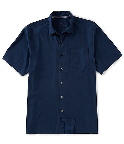 Tommy Bahama Catalina Stretch Twill Short-Sleeve Woven Shirt