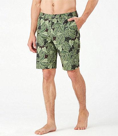Tommy Bahama Cayman Camo Dunes 9#double; Inseam Hybrid Shorts