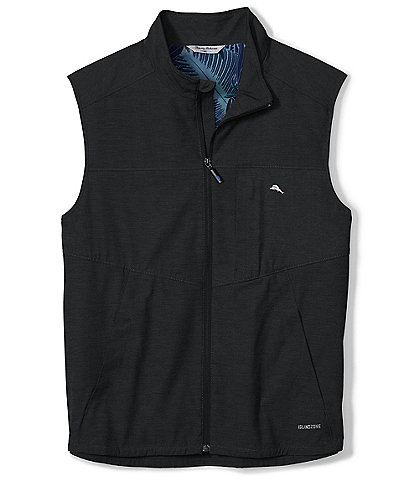 Tommy Bahama Chip And Run Full-Zip Vest