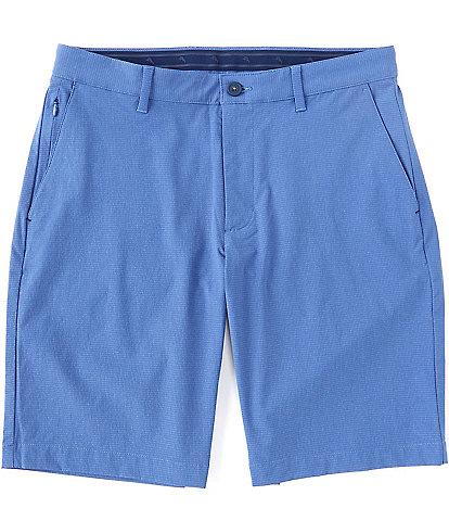 Tommy Bahama IslandZone Chip Shot Stretch 10#double; Inseam Flat-Front Shorts
