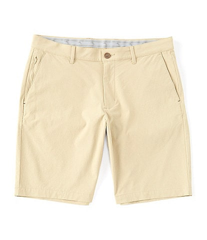 Tommy Bahama Chip Shot Stretch 10#double; Inseam Flat-Front Shorts