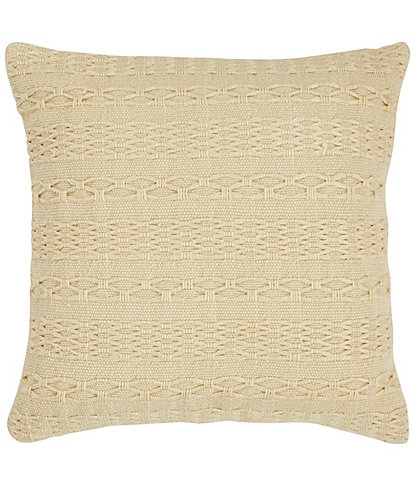 Tommy Bahama Cross Weave Canvas Throw PIllow