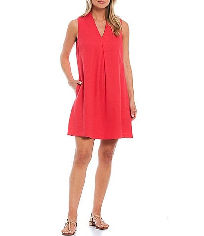 Tommy Bahama Daphnie Linen Blend Shift Dress