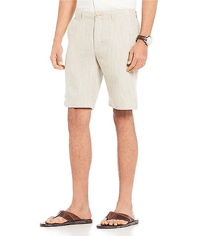 Tommy Bahama Harbor Herringbone Pull-On Shorts