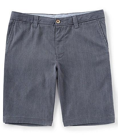 Tommy Bahama Havana Herringbone Flat-Front Shorts