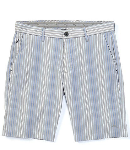 Tommy Bahama Isla Bay Flat-Front 10#double; Inseam Shorts