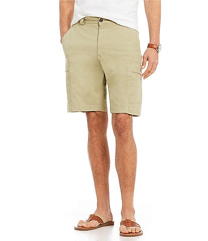 Tommy Bahama Key Isles Cargo 10#double; Inseam Shorts