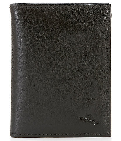 Tommy Bahama Marlin Embossed L-Fold Leather Wallet