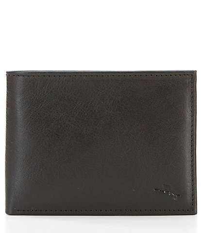 Tommy Bahama Marlin Embossed Leather Wallet with Removable Passcase