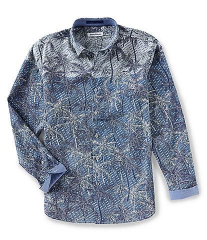 Tommy Bahama Mirror Palms Long-Sleeve Woven Shirt
