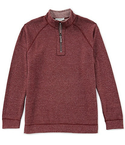Tommy Bahama On The Double Reversible Half-Zip Pullover