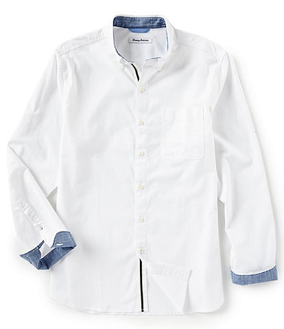 Tommy Bahama Oxford Isles Stretch Oxford Long-Sleeve Woven Shirt