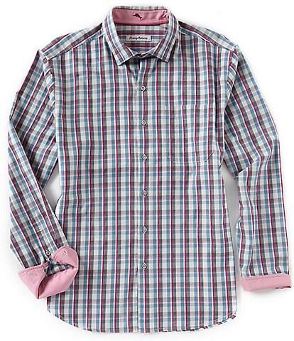Tommy Bahama Palmar Plaid Long-Sleeve Woven Shirt