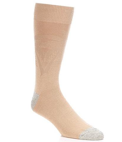 Tommy Bahama Reflection Texture Palm Crew Socks