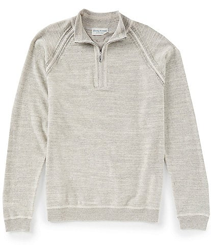 Tommy Bahama Sandy Bay Reversible Half-Zip Pullover