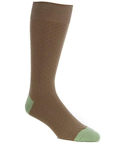 Tommy Bahama Solid Basketweave Crew Socks
