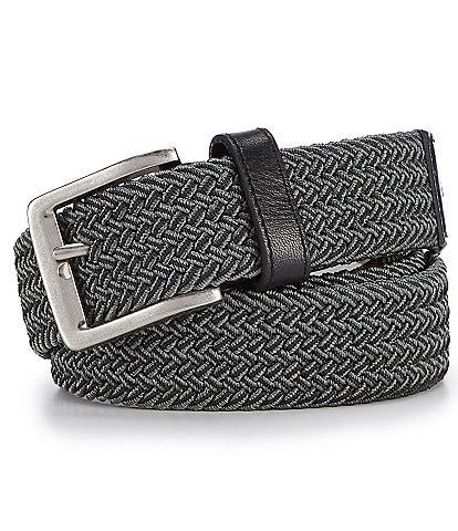 Tommy Bahama Stretch 2-Tone Web Braid Belt