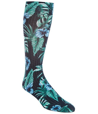 Tommy Bahama Tropical Delights Textured Crew Socks