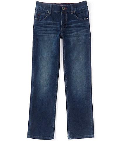Tommy Hilfiger Big Boys 8-20 Revolution Straight-Fit Denim Jeans