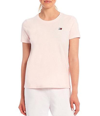 Tommy Hilfiger Sport Crew Neck Short Sleeve Logo Tee