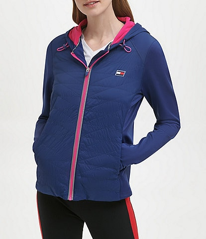 Tommy Hilfiger Sport Lightweight Quilted Hooded Jacket