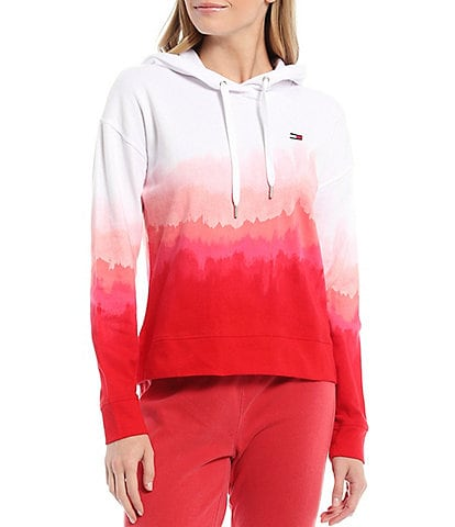 Tommy Hilfiger Sport Printed Ombre Pullover Hoodie