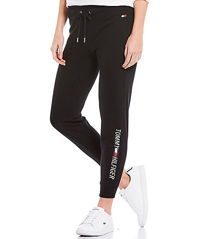 Tommy Hilfiger Sport Signature Slim French Terry Logo Joggers
