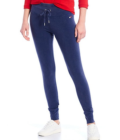 Tommy Hilfiger Sport Snow Washed High Rise Leggings