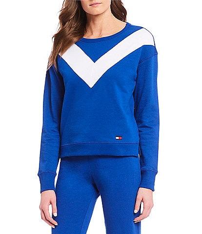 Tommy Hilfiger Sport Varsity Crop Sweatshirt
