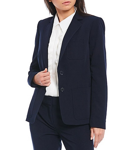 Tommy Hilfiger Stretch Woven Suiting Two-Button Jacket